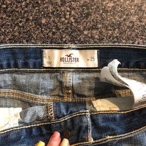 Hollister Shorts - Distressed Denim Shorts - Hollister